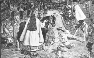 Dido Hutsulka and the Cossack