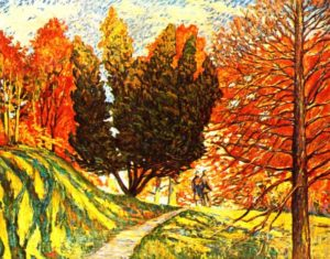 Dido Parkway in Fall 1945 Germany