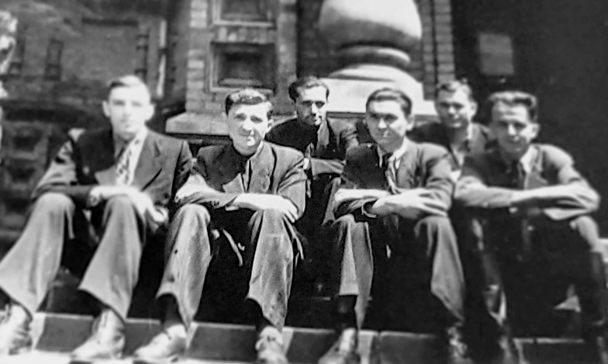 Friends from the seminary; some arrived in Minneapolis after the war and stayed lifelong friends.
