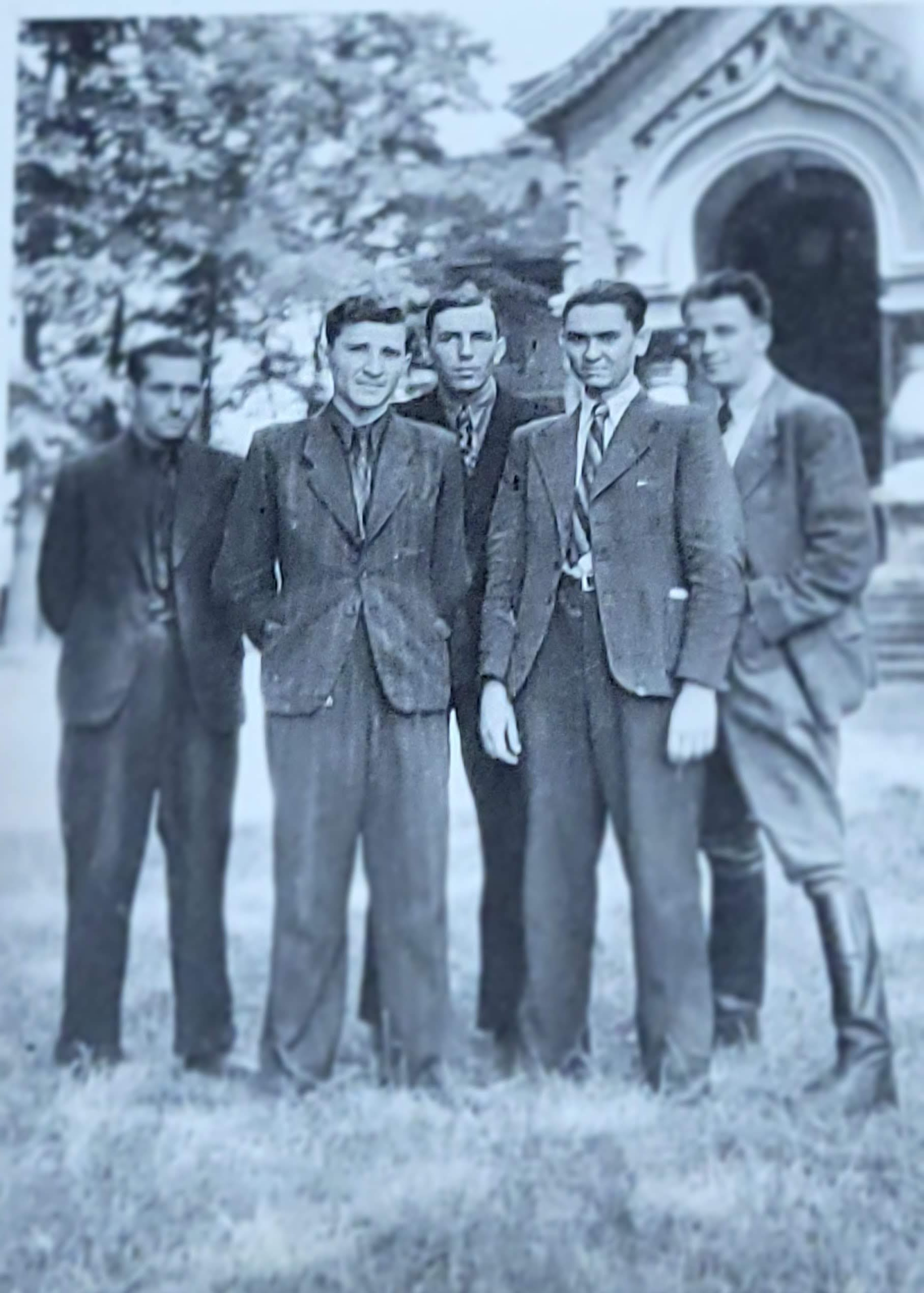 1940s, seminarian friends