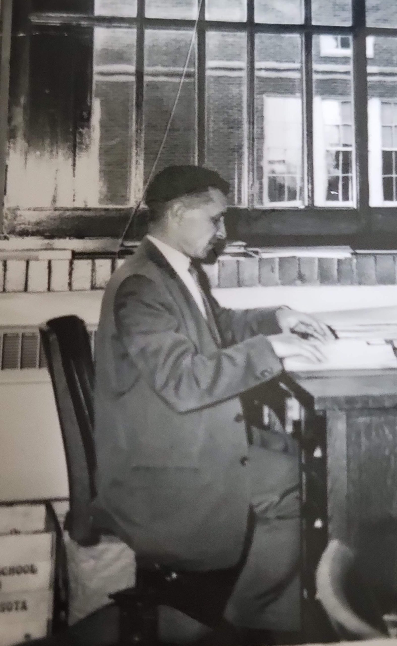 1966, in his office